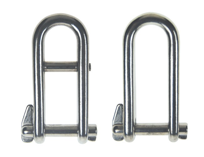HALYARD SHACKLE (CAPTIVE PIN)