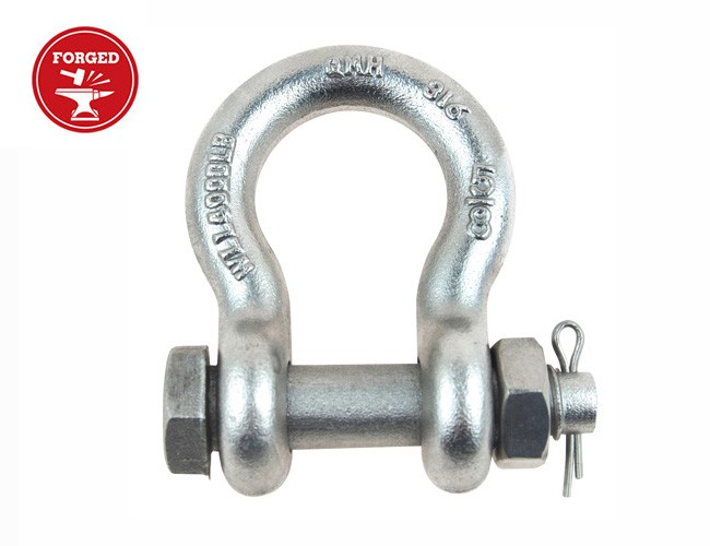 DROP FORGED BOLT PIN ANCHOR SHACKLE