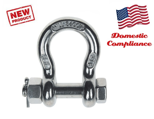 BOLT PIN ANCHOR SHACKLE